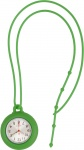 Silicone Lanyard Fob Watch Green