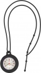 Silicone Lanyard Fob Watch Black