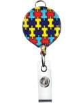Retractable ID Badge Holder Autism